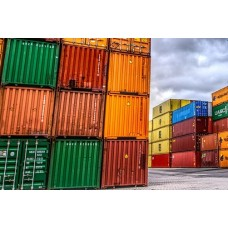 Complete shipping container / moving container for transport (FCL)