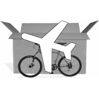 "Bicycle transport ""Express"" delivery by air freight"