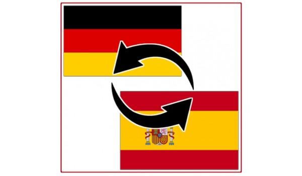 Transport between Spain Peninsula and Germany