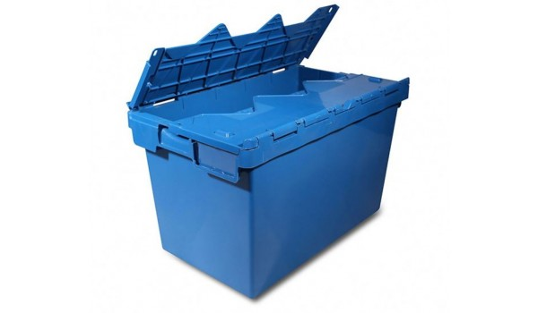 Plastic transport box stackable 60x44x40cm (70l) to buy
