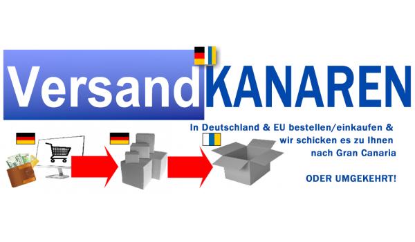 VersandKanaren registration new customer