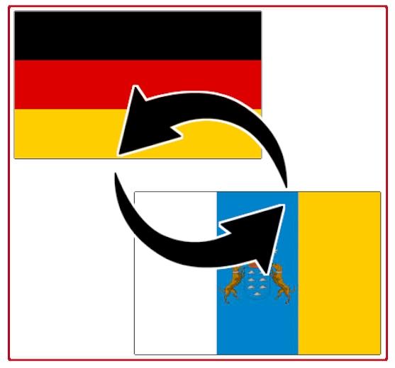 Transporte zwischen Kanaren und Deutschland