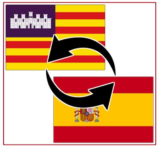Transporte zwischen Balearen / Mallorca und Festland-Spanien / Portugal
