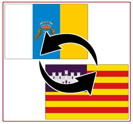 Transporte zwischen Kanaren und Balearen/Mallorca